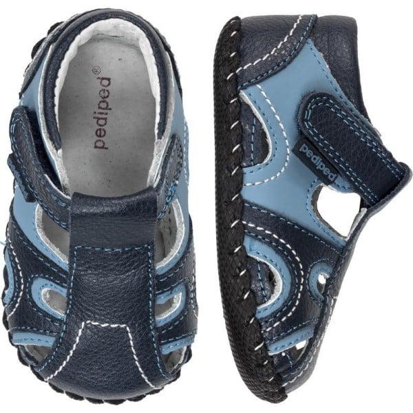 pediped originals brody navy blue