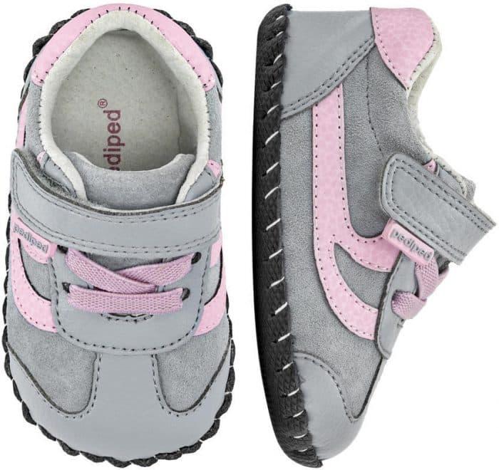 pediped originals cliff grey pink