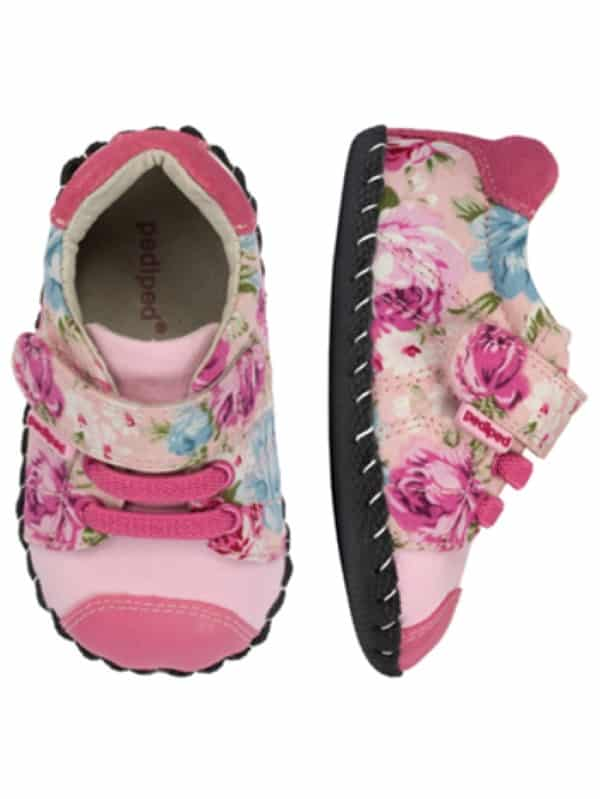 pediped originals jake pink floral