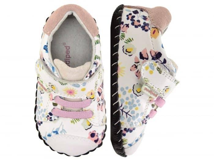 pediped originals jake white floral