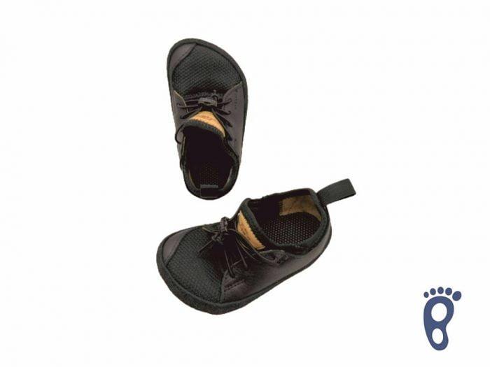 pegres barefoot tenisky bf33 cierna