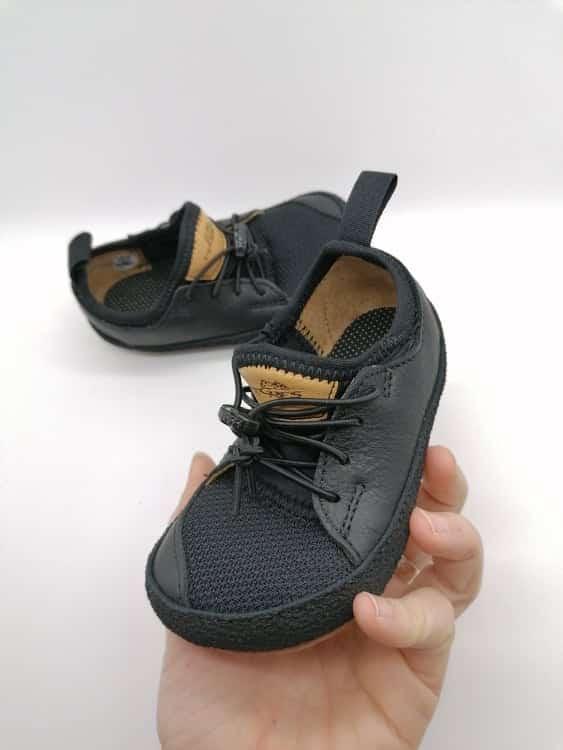 Pegres - BF33 - Barefoot tenisky - Čierna 1
