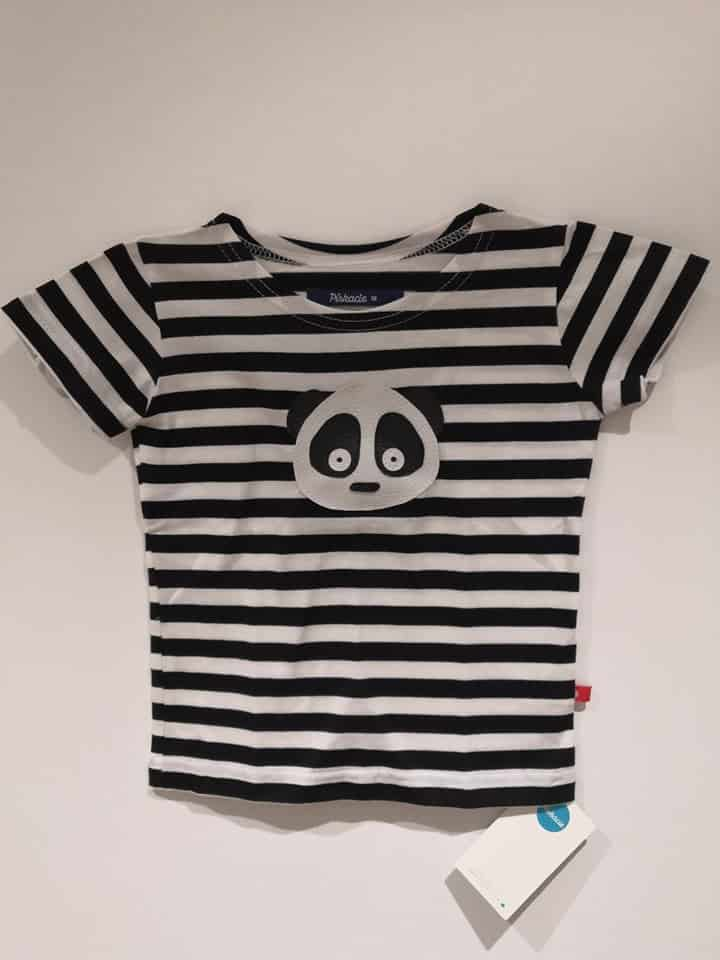 5e8214a912b9 Home eShop Oblečenie Tričká (krátky rukáv) Pískacie – tričko s krátkym  rukávom – Panda (čierne)