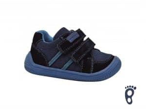 protetika barefoot brik navy prechodne topanky pre deti detske chlapcenske