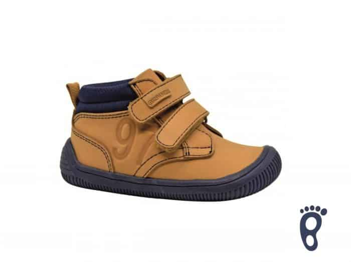protetika barefoot fox brown prechodne topanky pre deti detske chlapcenske