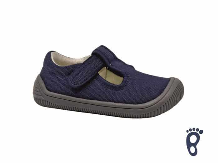 protetika barefoot papucky pre deti detske do skolky skoly kirby navy
