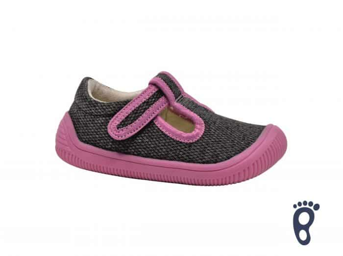 protetika barefoot kirby pink papucky papuce pre deti detske do skolky skoly dievcenske