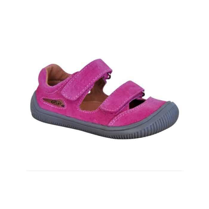 protetika barefoot sandale berg fuxia dievcenske