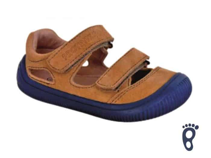 protetika barefoot berg beige sandalky
