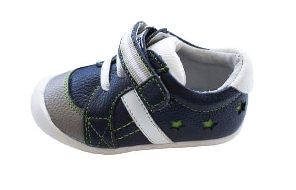 rose et chocolate trainers navy