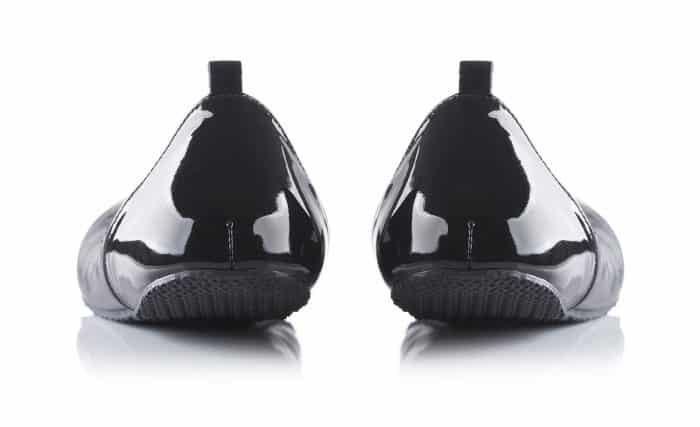 SHAPEN - Barefoot balerínky TULIP II - Black 1