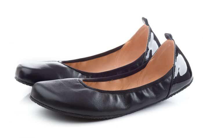 SHAPEN - Barefoot balerínky TULIP II - Black 2