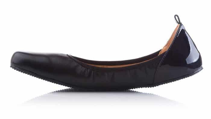 SHAPEN - Barefoot balerínky TULIP II - Black 3