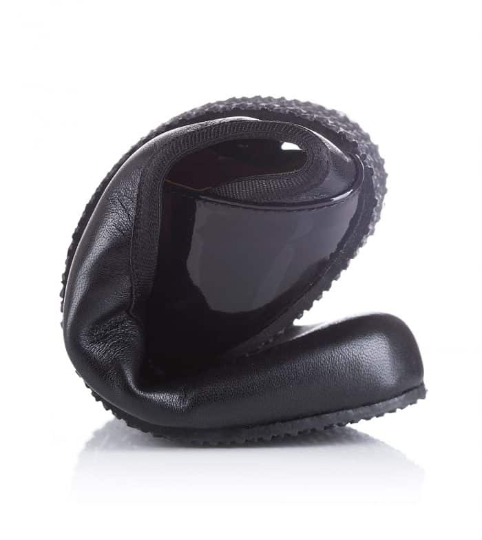 SHAPEN - Barefoot balerínky TULIP II - Black 5