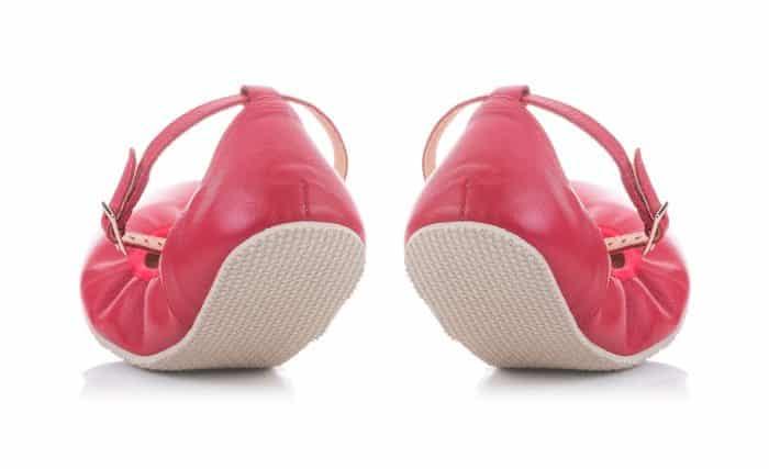 SHAPEN - Barefoot balerínky TULIP II - Cherry 3