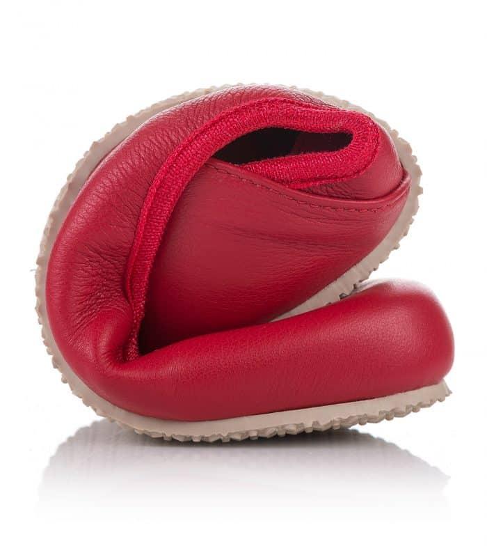 SHAPEN - Barefoot balerínky TULIP II - Cherry 6