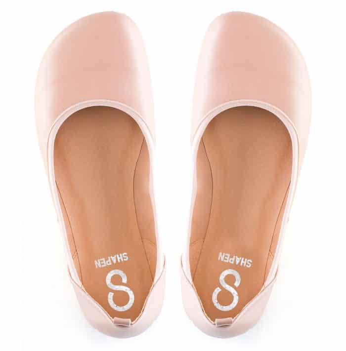 SHAPEN - Barefoot balerínky TULIP II - Nude 1