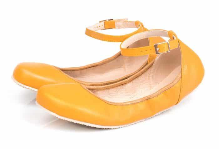 shapen balerinky sun yellow