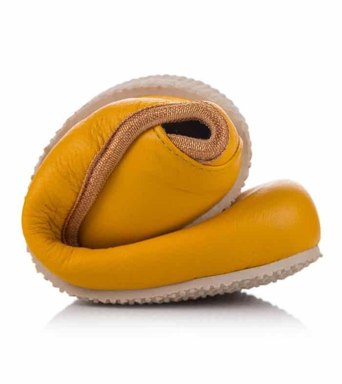 SHAPEN - Barefoot balerínky TULIP II - Sun Yellow 6