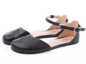 shapen poppy barefoot sandalky black