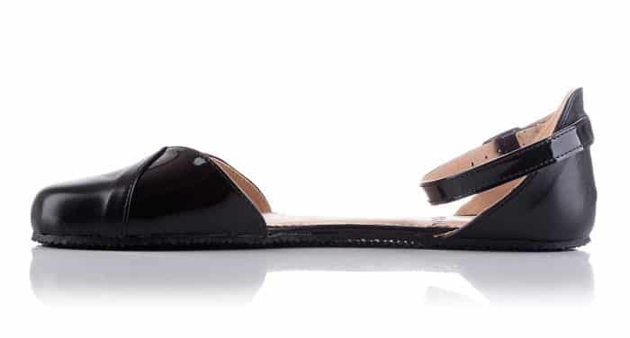 SHAPEN - Barefoot sandálky POPPY II - Black 2