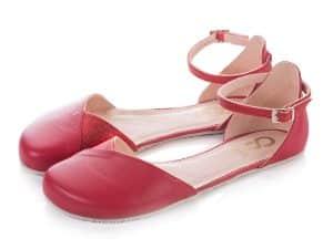 shapen barefoot sandalky poppy cherry