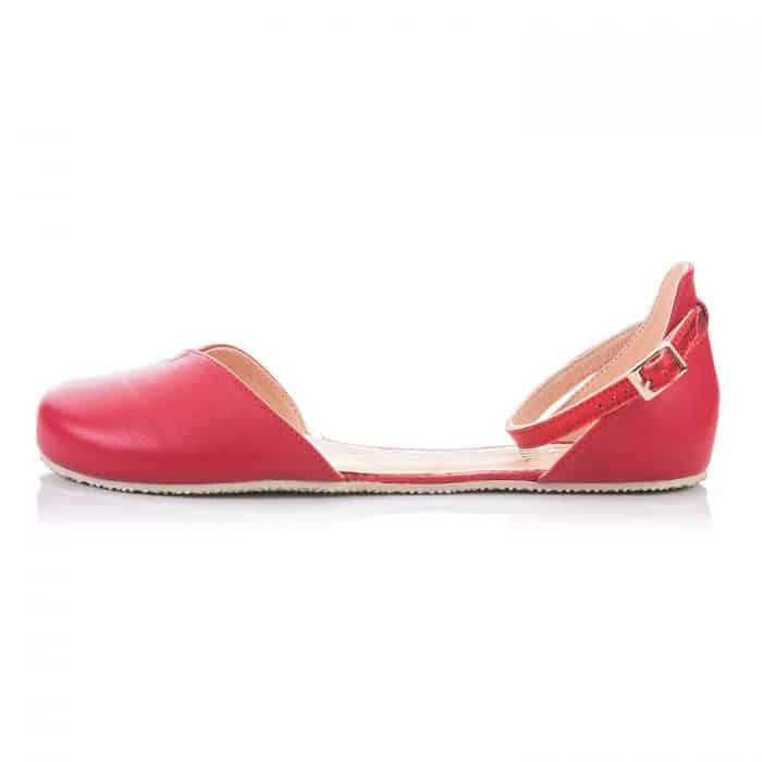 SHAPEN - Barefoot sandálky POPPY II - Cherry 2