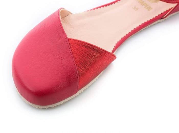 SHAPEN - Barefoot sandálky POPPY II - Cherry 4