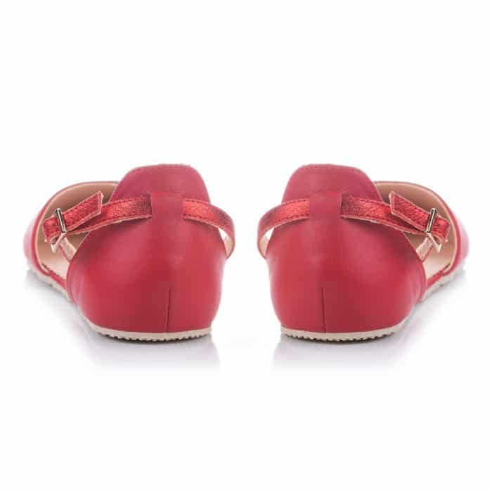 SHAPEN - Barefoot sandálky POPPY II - Cherry 6