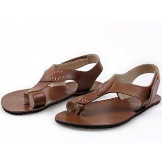 soul barefoot damske sandale brown