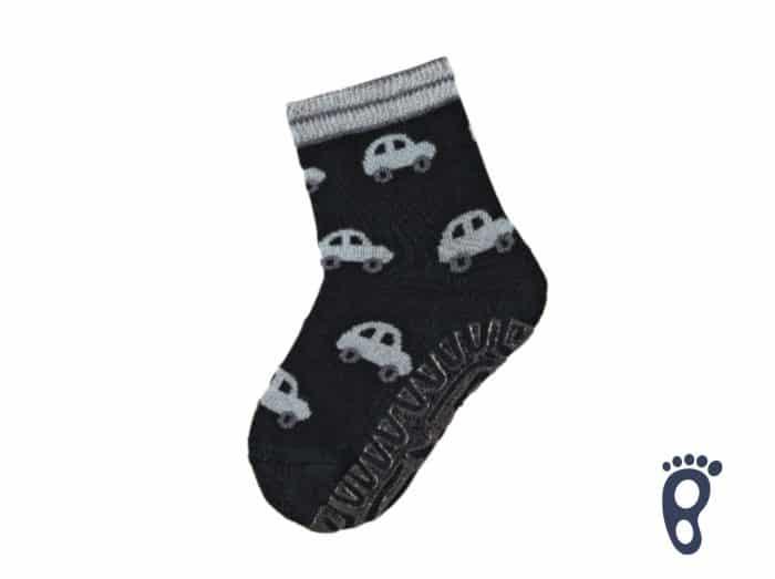 Sterntaler - Protišmykové ponožky - Autá - Modré 1