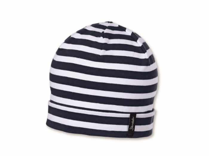 sterntaler ciapka modra s pruzkami