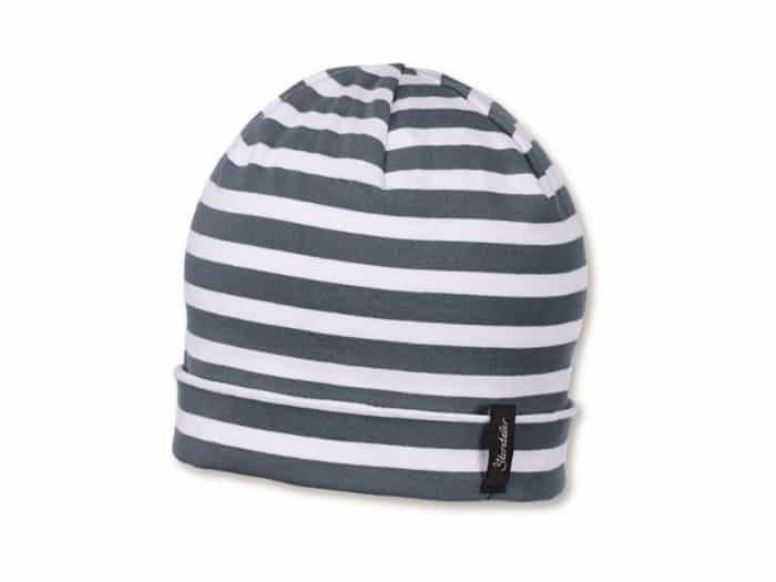 sterntaler ciapka sedomodra s pruzkami