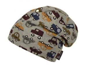 sterntaler ciapka siva s autickami