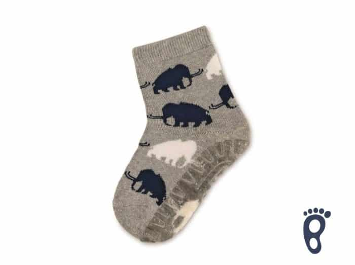 Sterntaler - Protišmykové ponožky - Mamuty 1