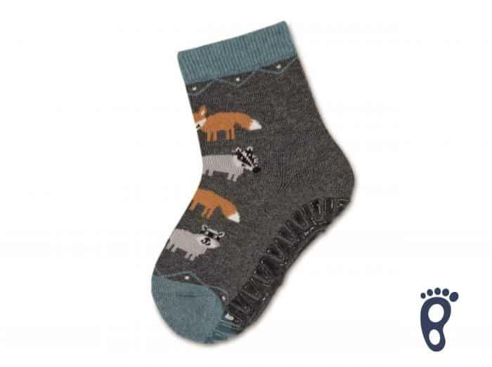 Sterntaler - Protišmykové ponožky - Líšky 1