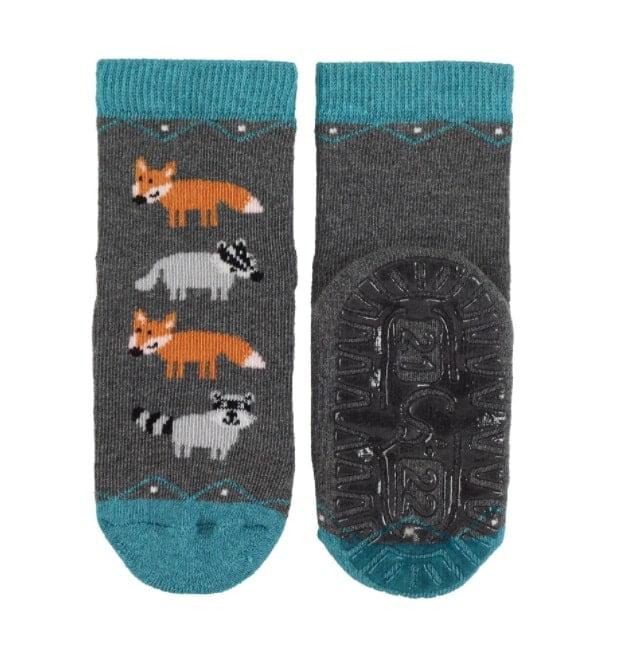 Sterntaler - Protišmykové ponožky - Líšky 2