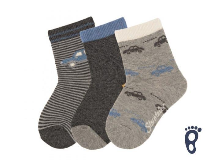 Sterntaler - Ponožky - Trojbalenie - Auto 1