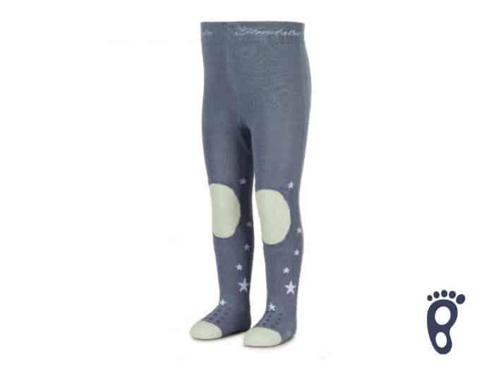 Sterntaler - Protišmykové pančuchy - Modré - Hviezdy 1