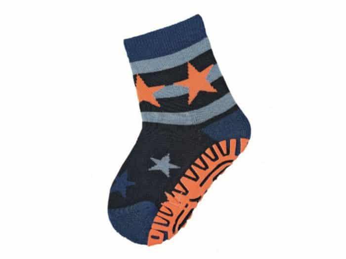 sterntaler protismykove ponozky oranzove hviezdy