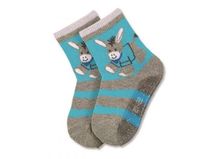 sterntaler protismykove ponozky somarik modre