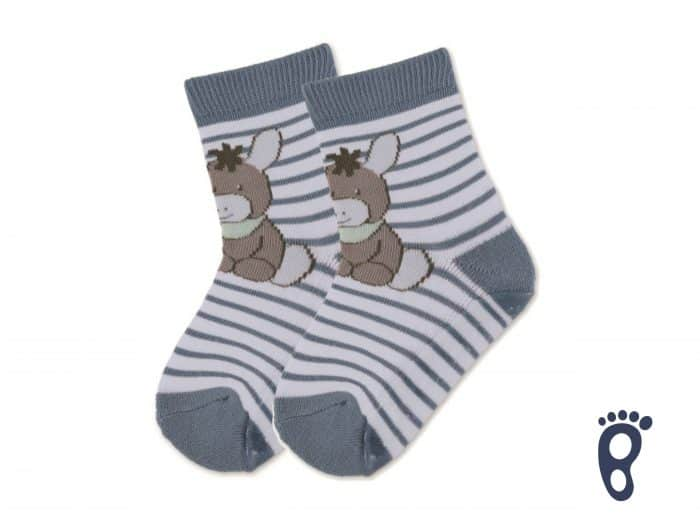 Sterntaler - Protišmykové ponožky - Oslík 1