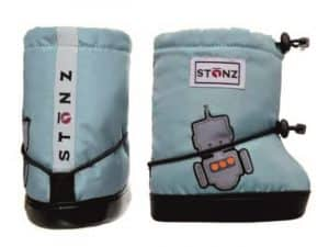stonz booties plus foam robot