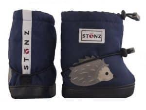 stonz booties toddler hedgehog