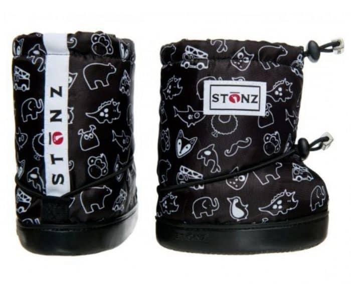 stonz booties toddler stonz print