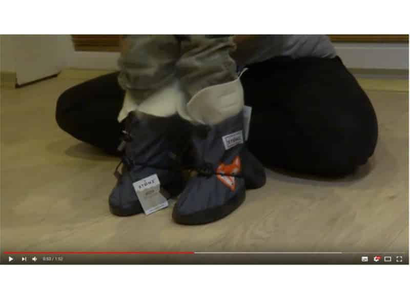 stonz obuvanie