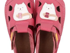 tikki barefoot sandalky pre deti nido kitty dievcenske