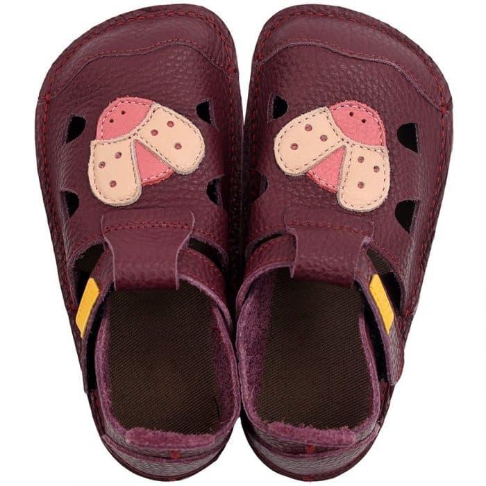 tikki barefoot sandalky pre deti dievcenske nido mariquita