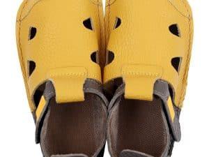 tikki barefoot sandale pre deti nido pomelo