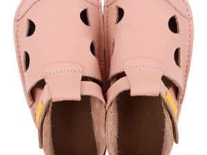 tikki barefoot sandalky pre deti nido rosa dievcenske